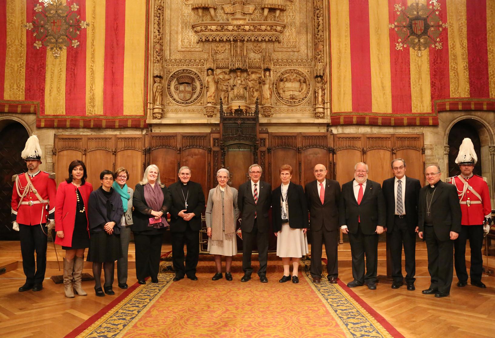 Acte d'entrega Medalla d'Or al Mèrit Cívic Congregació Germanes Hospitalàries